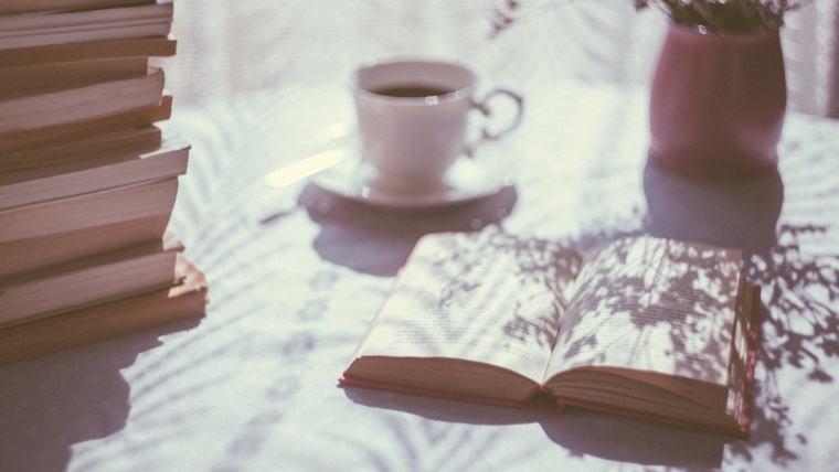 本とコーヒータイム